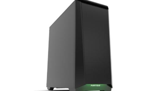 【ストーム PG-FDレビュー】静音ケース・M.2 NVMe SSD標準搭載のゲーミングPC